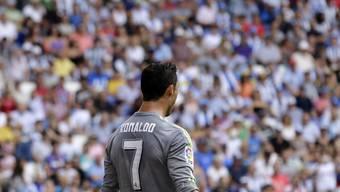 Traf nach einem lupenreinen Hattrick nochmals zweimal: Real Madrids Superstar Cristiano Ronaldo