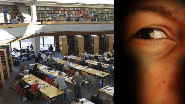 Spanner an der Basler Universitätsbibliothek