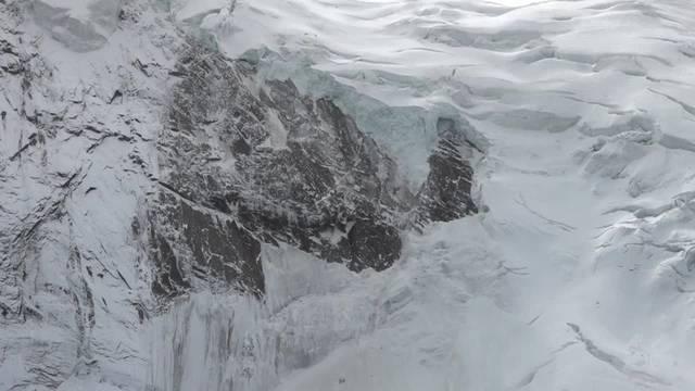 So sieht der Gletscherabbruch aus
