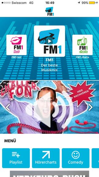 Radio FM1 hat neue Webchannels.