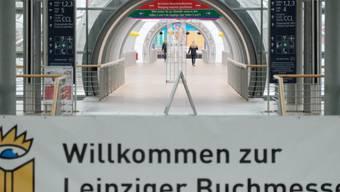 In den heiligen Hallen der Leipziger Buchmesse wandeln seit heute Donnerstag hunderttausende Literaturfans. (Archivbild)