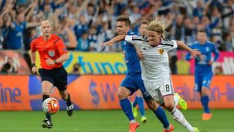 FC Basel gegen Lech Posen