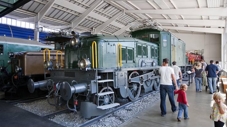 Eine «Krokodil»-Lokomotive im Verkehrshaus in Luzern. Bald soll auch eine in Oerlikon stehen.