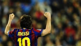 Lionel Messi kassiert ab