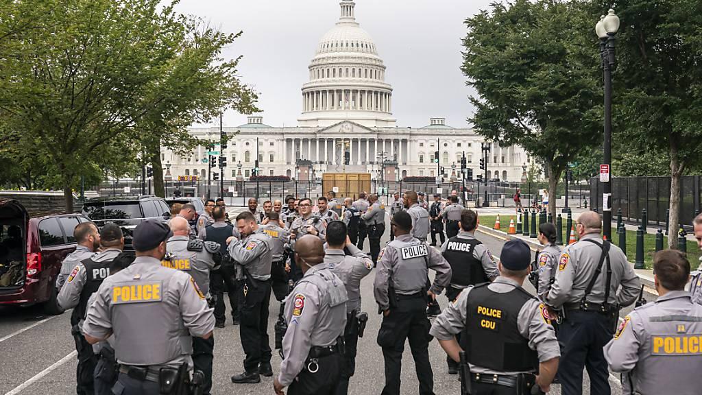 Washington rüstet sich für Pro-Trump-Demonstration am US-Kapitol