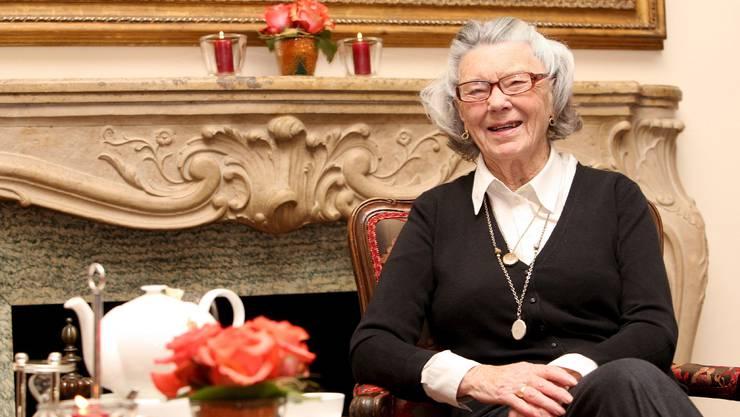Rosamunde Pilcher ist 94-jährig gestorben. (Archivbild 2008)