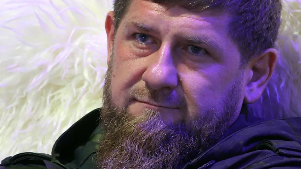 Ramsan Kadyrow, Oberhaupt der russischen Teilrepublik Tschetschenien.