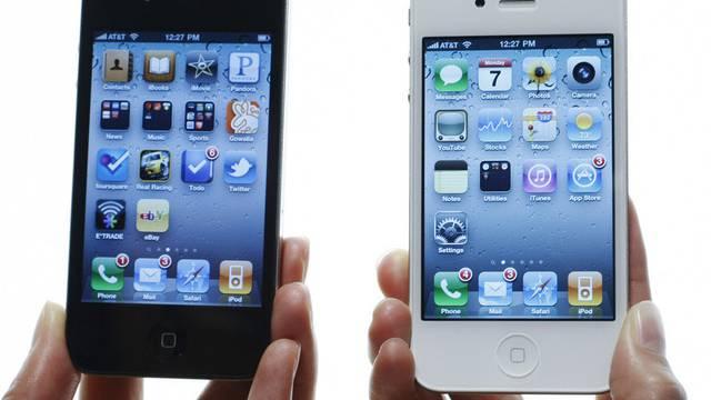 Das iPhone 4 von Apple.
