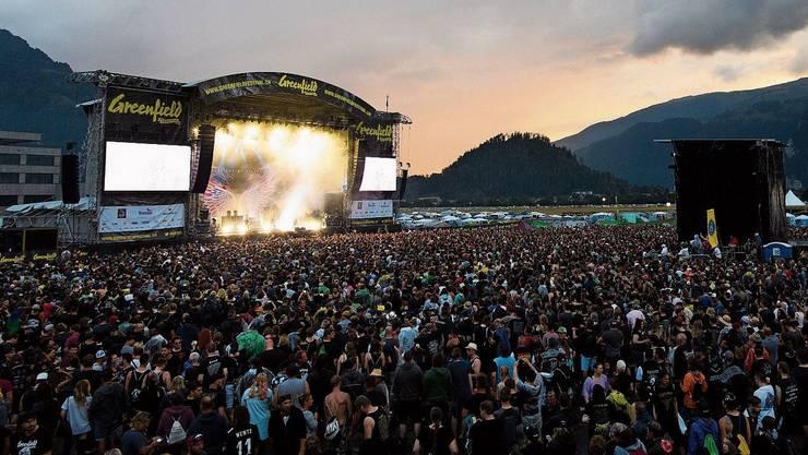 Das Greenfield-Festival in Interlaken sollte Mitte Juni über die Bühne gehen. Ob es stattfinden wird, ist ungewisser denn je.