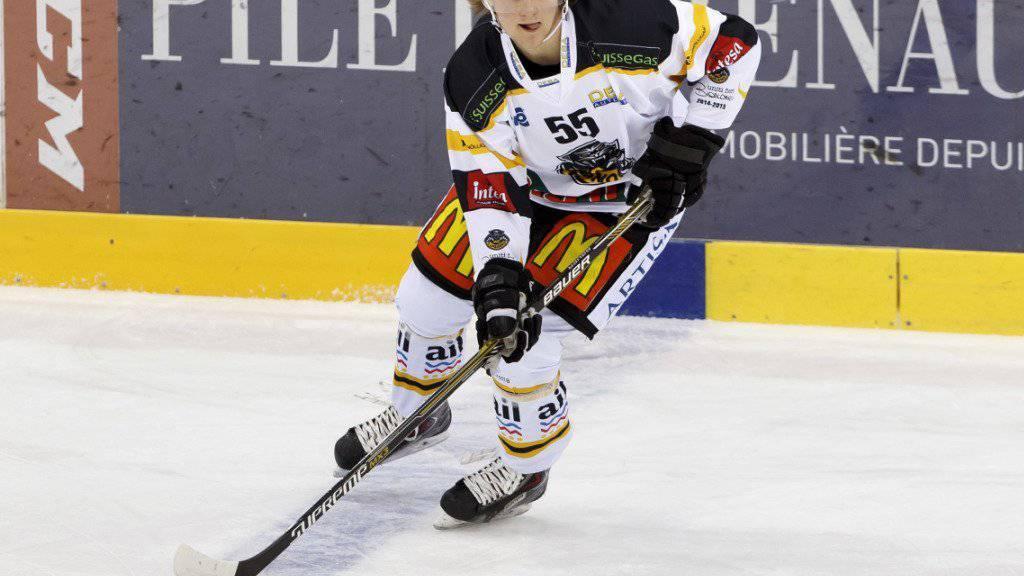 Spielte in der Saison 2014/15 für 36 Spiele im Dress des HC Lugano: Calle Andersson