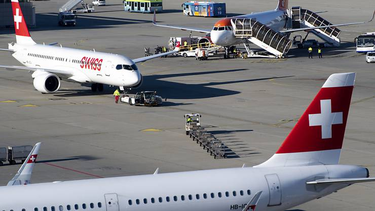 Die Swiss fliegt weiter nach Chicago und New York - trotz Reiseverbot für Europäer.