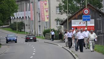 Der Dorfkern von Ottenbach soll mit einer Umfahrung entlastet werden. (Bild: Werner Schneiter)