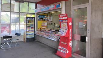 Der heutige Kiosk am Bahnhof Kölliken muss einer Wartehalle weichen.
