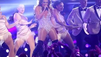 US-Sängerin und Schauspielerin Jennifer Lopez will ihren 50. ausgiebig feiern - sie plant eine Party-Konzert-Tour durch die USA. (Archivbild)