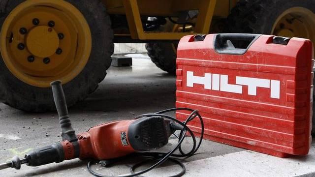 Baugeräte-Hersteller Hilti trotz der Nachfrageflaute in Südeuropa (Archiv)