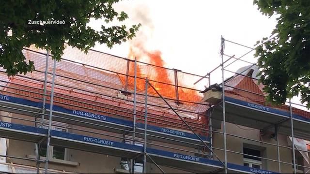 Wegen Brand 6 Wohnungen in Wettingen evakuiert