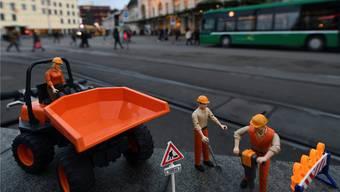 Ab nächster Woche soll auf dem Centralbahnplatz nun wirklich gebaut werden. Juri Junkov