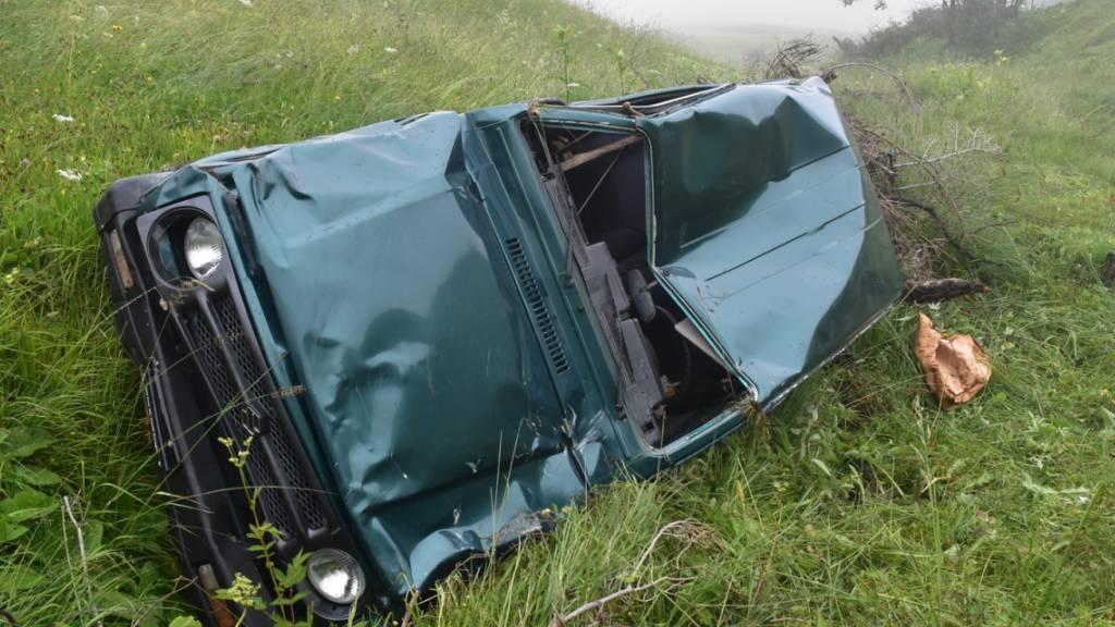 84-Jähriger mit Geländefahrzeug tödlich bei Maiensäss verunfallt