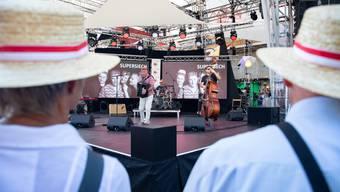 Solothurner Musiker an der Fête des Vignerons.