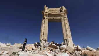 Nach der Zerstörung durch den IS will Syrien den Baal-Tempel wieder aufbauen. Fachleute sind skeptisch.