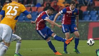 Der 17. Saisontreffer des neuen Torschützenkönigs: Albian Ajetis 2:1 für den FC Basel
