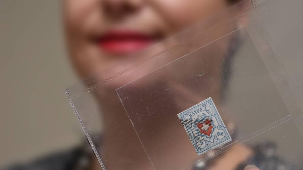Briefmarke für 162'500 Franken versteigert