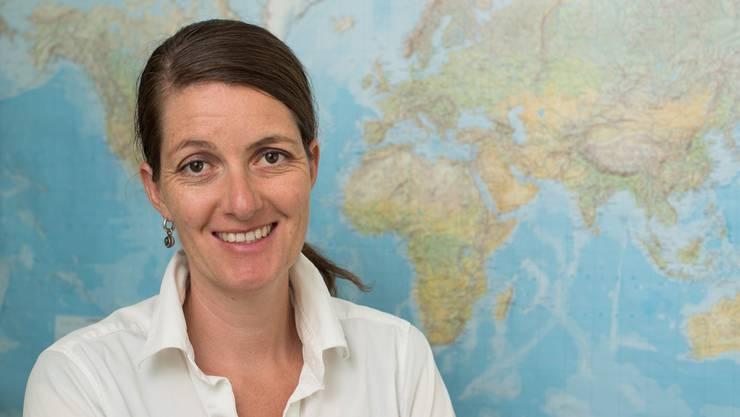 Lelia Hunziker ist die Leiterin der Anlaufstelle Integration Aargau. (Alex Spichale)