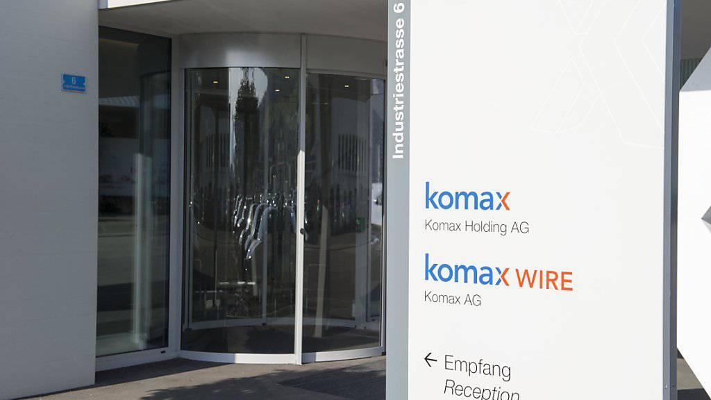Komax machte mehr Gewinn trotz harter Währung. (Archivbild).