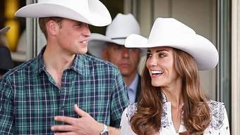 Kate und William auf offiziellem Staatsbesuch in Kanada