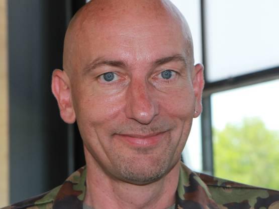 Felix Keller, Kommandant Waffenplatz Frauenfeld.