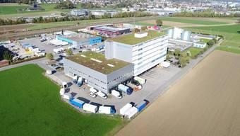 Das Gebäude der M+R Logistik Service in Gunzgen.