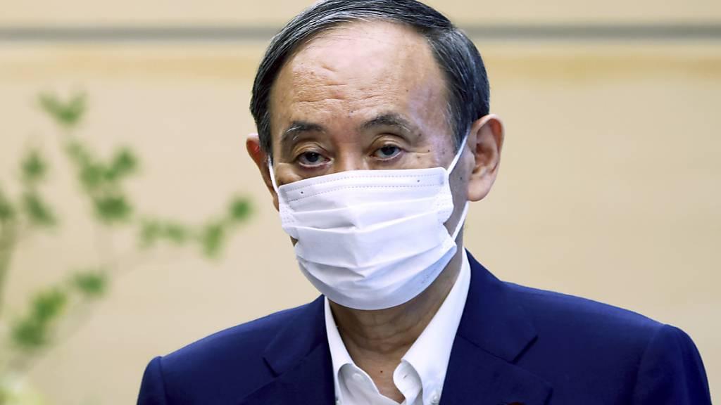 Japans Regierungschef Suga gibt auf