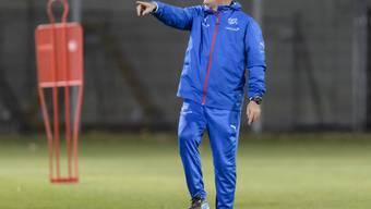 Lässt im ersten EM-Test gegen die Slowakei ordentlich rotieren: der Schweizer Nationaltrainer Vladimir Petkovic