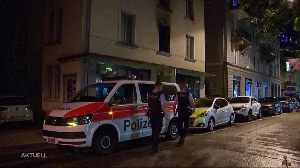 Brand am Stauffacherplatz Zürich: Verdacht auf Brandstiftung