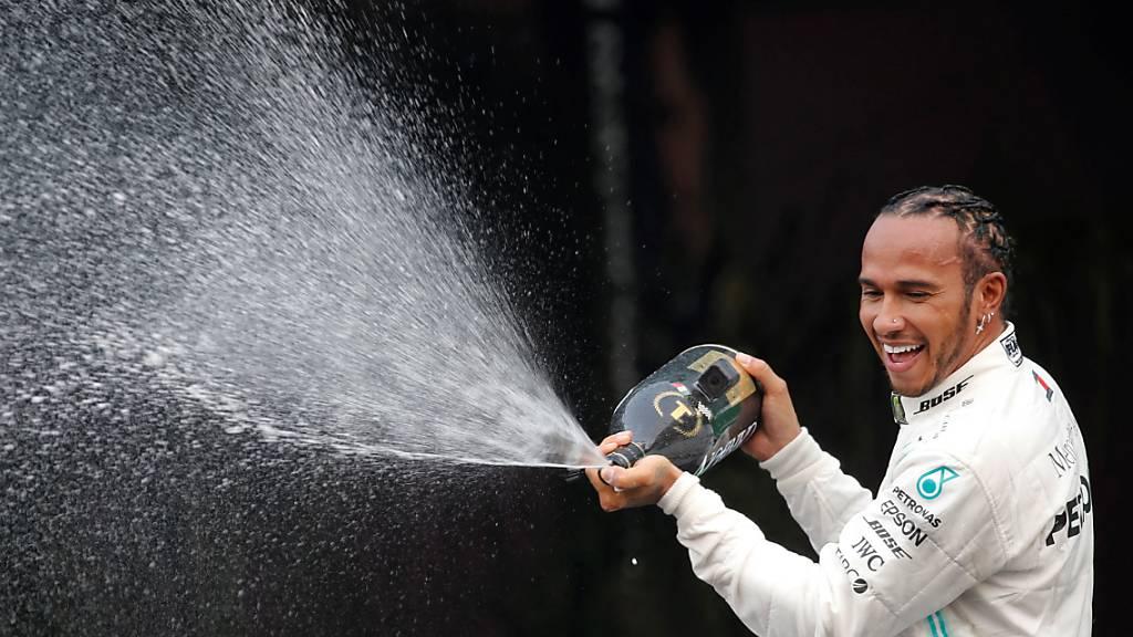 Lewis Hamilton zum sechsten Mal Weltmeister