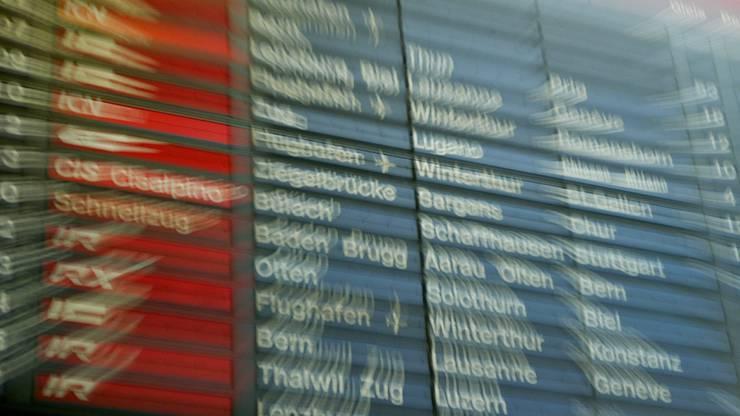 Die Hitze macht den SBB zu schaffen. Verspätungen und ausgefallene Klimaanlagen verärgerten die Reisenden.