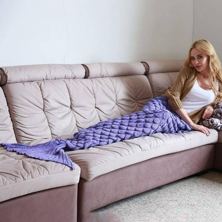 Decken für Nixen (© Instagram.com/blanketsmermaid)
