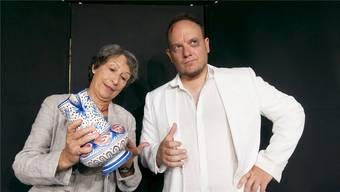 «Der zerbrochne Krug», das Lustspiel von Heinrich von Kleist, wird mit Franziska Bussmann und David Gnägi in den Hauptrollen gespielt. zvg