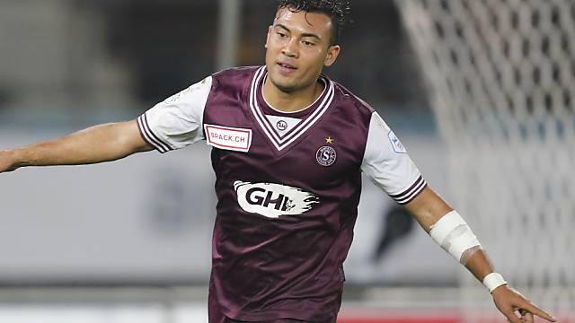 Johan Vonlanthen erzielte das 2:0 für Servette