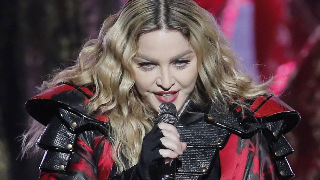 Madonna macht dieser Tage ausschliesslich mit Negativ-Schlagzeilen von sich reden (Archiv)