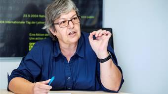 Elisabeth Abbassi, Präsidentin des Lehrerverbands Kanton Aargau. (Archiv)