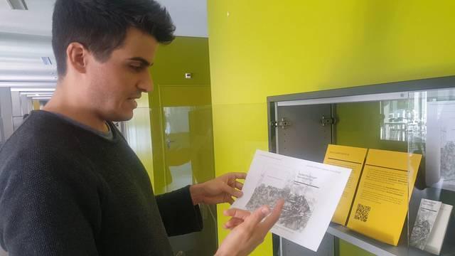 Zeichnungslehrer Carlos Granado sagt, weshalb das Bild von Solange Maréchal gewonnen hat.