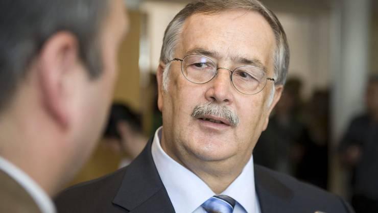 Der frühere Finanzdirektor Adrian Ballmer.