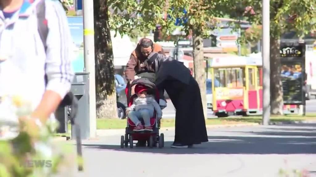 Nationalrat diskutiert Burka-Initiative: SVP wird kritisiert