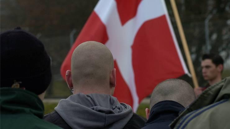 Tummelfeld für rechtsextremes Gedankengut: eine Veranstaltung der Pnos, der Partei national orientierter Schweizer. Hanspeter Bärtschi