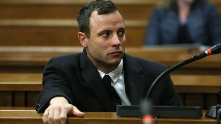 Oscar Pistorius während der Gerichtsverhandlung