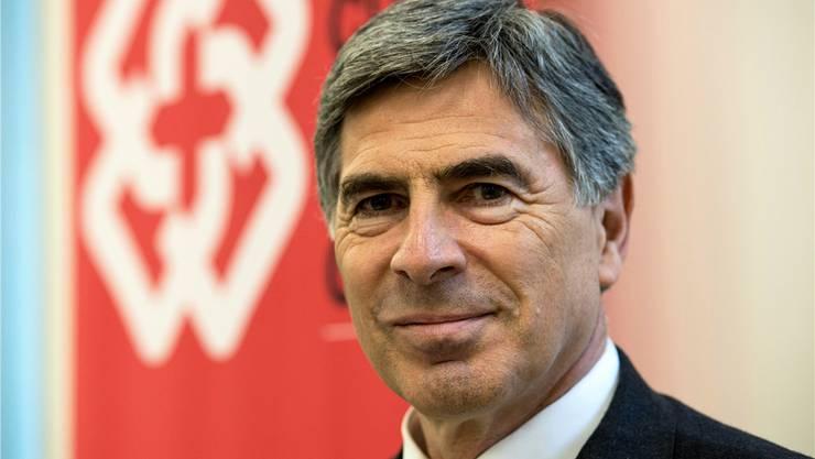Erziehungsdirektor Basel-Stadt (LDP), Präsident der Schweizerischen Konferenz der kantonalen Erziehungsdirektoren (EDK)