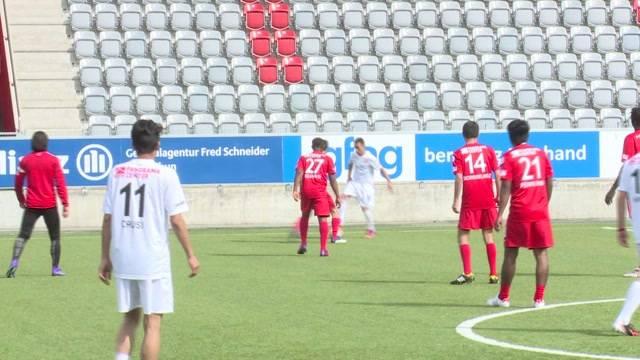 FC Thun trainiert mit Asylbewerbern