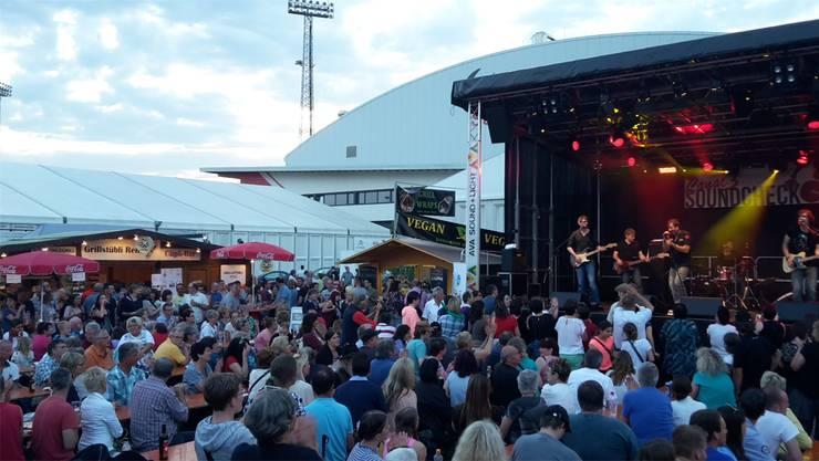 Die Konzerte am Abend waren jeweils gut besucht.
