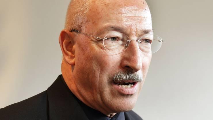 Rainer Huber war von 2001 bis 2009 Regierungsrat. Dann wurde er abgewählt.